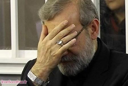 علت هم نشینی لاریجانی با خاتمی چیست؟ | پشت پرده عکس لاریجانی و خاتمی در مجلس عزاداری