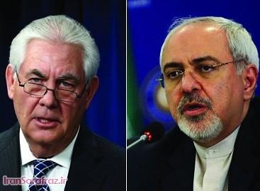 تیلرسون: با ظریف دیدار کردم / گفتگو با وزیر خارجه ایران به دور از عصبانیت بود / به طرف یکدیگر لنگه کفش پرتاب نکردیم و سر هم داد نکشیدیم / ظریف تحصیلات بالایی دارد و انسان پیچیده ای است