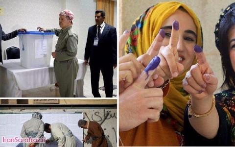 با وجود مخالفتها؛ همهپرسی استقلال کردستان عراق برگزار شد