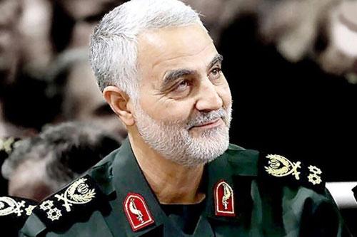 قاسم سلیمانی نخستین سپهبد سپاه پاسداران